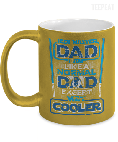 Jadi Dad - Metallic Mug-Coffee Mug-TEEPEAT