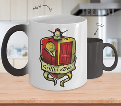 Griffin Door Color Changing Mug