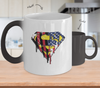 Superman US Flag Color Changing Mug-Coffee Mug-TEEPEAT