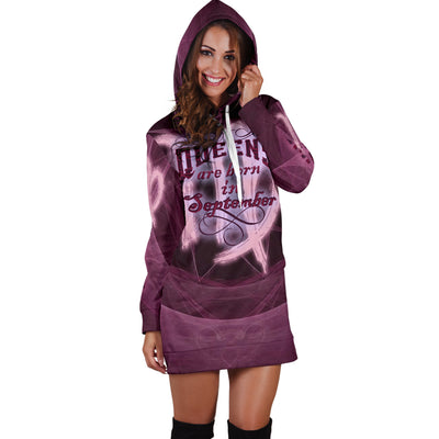 Queens Born In September Hoodie Dress