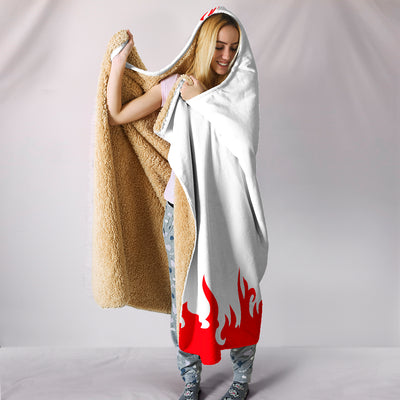 Hokage Hooded Blanket