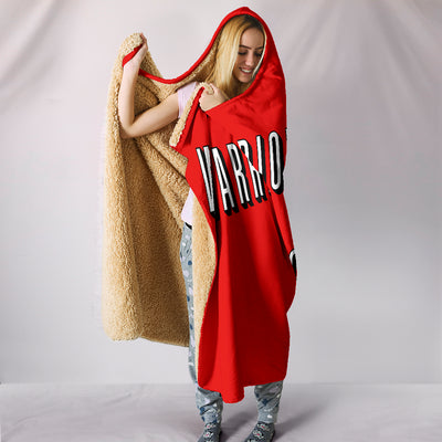 Warriors Basketball and Chill Hooded Blanket