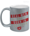 Real men Are Born In October Metallic Mug