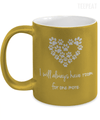 Room For One More Metallic Mug-Coffee Mug-TEEPEAT