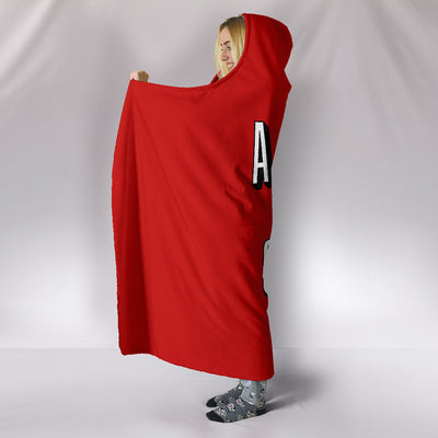 Anime and Chill Hooded Blanket