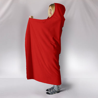 Gym and Chill Hooded Blanket