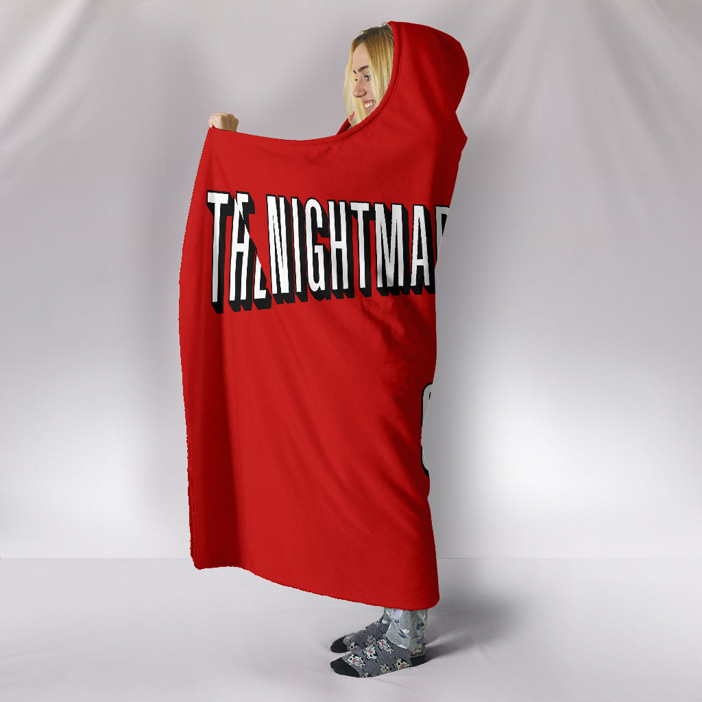 The Nightmare Before Christmas and Chill Hooded Blanket - Empire Prints