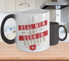 Real men Are Born In October Color Changing Mug
