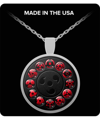 Sharingan Necklace-Necklace-TEEPEAT