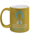 Mathematically Metallic Mug