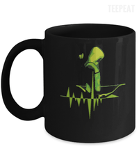 Pulse Arrow Black Mug