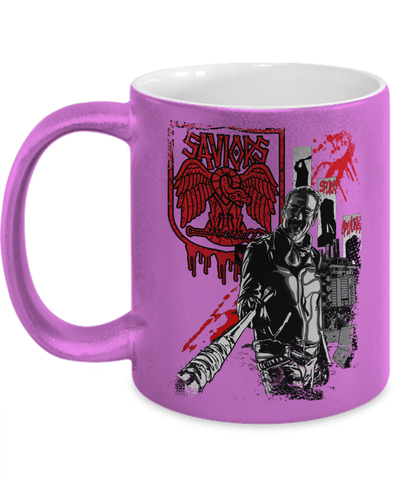 Saviors Negan Metallic Mug