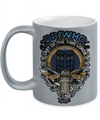 Time Lord Metallic Mug