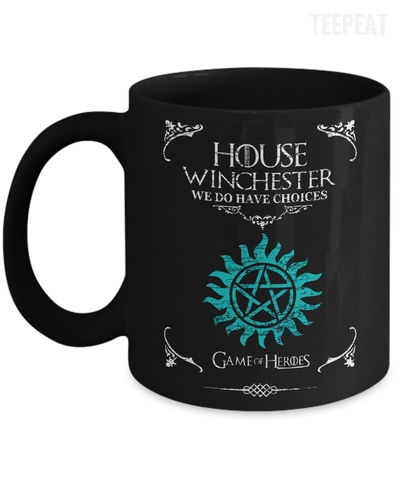House of Winchester Mug-Coffee Mug-TEEPEAT