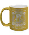 Powerful Wolf Metallic Mug
