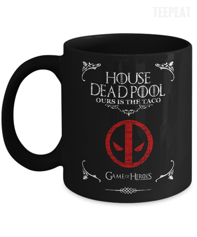 House of Deadpool Mug-Coffee Mug-TEEPEAT
