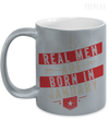 Real Men are Born In January Metallic Mug