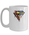 Superman US Flag Tee-Coffee Mug-TEEPEAT