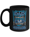 Jedi Dad - Black Mug-Coffee Mug-TEEPEAT