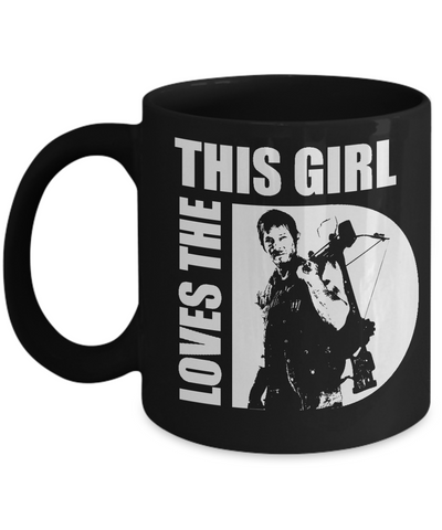 This Girl Loves The D Mug-Coffee Mug-TEEPEAT