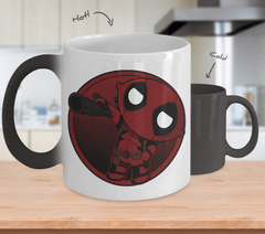 Stewie Deadpool Color Changing Mug