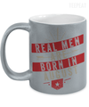 Real Men Are Born In August Metallic Mug