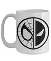 Spiderman Deadpool Mug