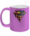 Superman US Flag Metallic Mug-Coffee Mug-TEEPEAT
