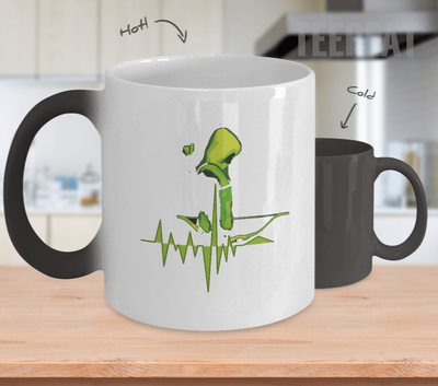 Pulse Arrow Color Changing Mug-Coffee Mug-TEEPEAT