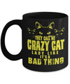 They Call Me Crazy Cat Mug-Coffee Mug-TEEPEAT