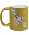Goku vs Vegeta Metallic Mug