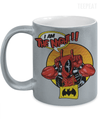 I am The Night Metallic Mug