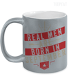 Real men Are Born In September Metallic Mug