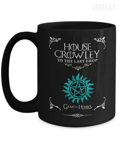 House of Crowley Mug-Coffee Mug-TEEPEAT