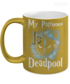 My Patronus is Deadpool Metallic Mug
