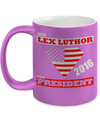 Vote Lex Luthor Metallic Mug-Coffee Mug-TEEPEAT