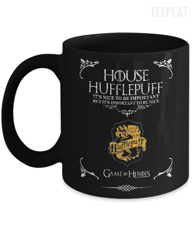 House of Hufflepuff Mug-Coffee Mug-TEEPEAT
