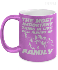 Family Metallic Mug