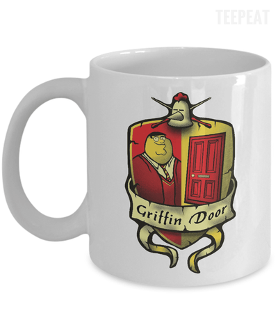Griffin Door Mug-Coffee Mug-TEEPEAT