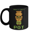 Pixel Drop Pot Mug