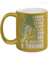 Gearbubble Coffee Mug 11oz Metallic Mug / Gold A Throne Metallic Mug