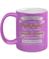 Gearbubble Coffee Mug 11oz Metallic Mug / Purple #1 Dog Mom Metallic Mug