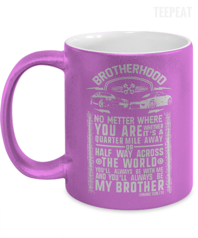 Gearbubble Coffee Mug 11oz Metallic Mug / Purple Brotherhood Metallic Mug