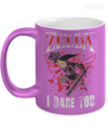 Gearbubble Coffee Mug 11oz Metallic Mug / Purple Call Me Zelda I Dare You Metallic Mug