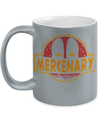Gearbubble Coffee Mug 11oz Metallic Mug / Silver Deadpool Mercenary Metallic Mug