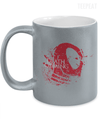 Gearbubble Coffee Mug 11oz Metallic Mug / Silver Death is Coming Metallic Mug
