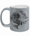 Gearbubble Coffee Mug 11oz Metallic Mug / Silver Death Star Metallic Mug