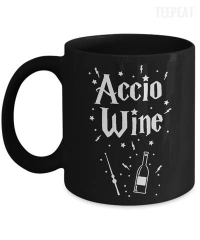 Gearbubble Coffee Mug 11oz Mug / Black Accio Wine Mug