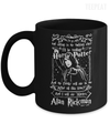 Gearbubble Coffee Mug 11oz Mug / Black Alan Rickman Mug