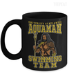 Gearbubble Coffee Mug 11oz Mug / Black Aquaman Swimming Team Mug